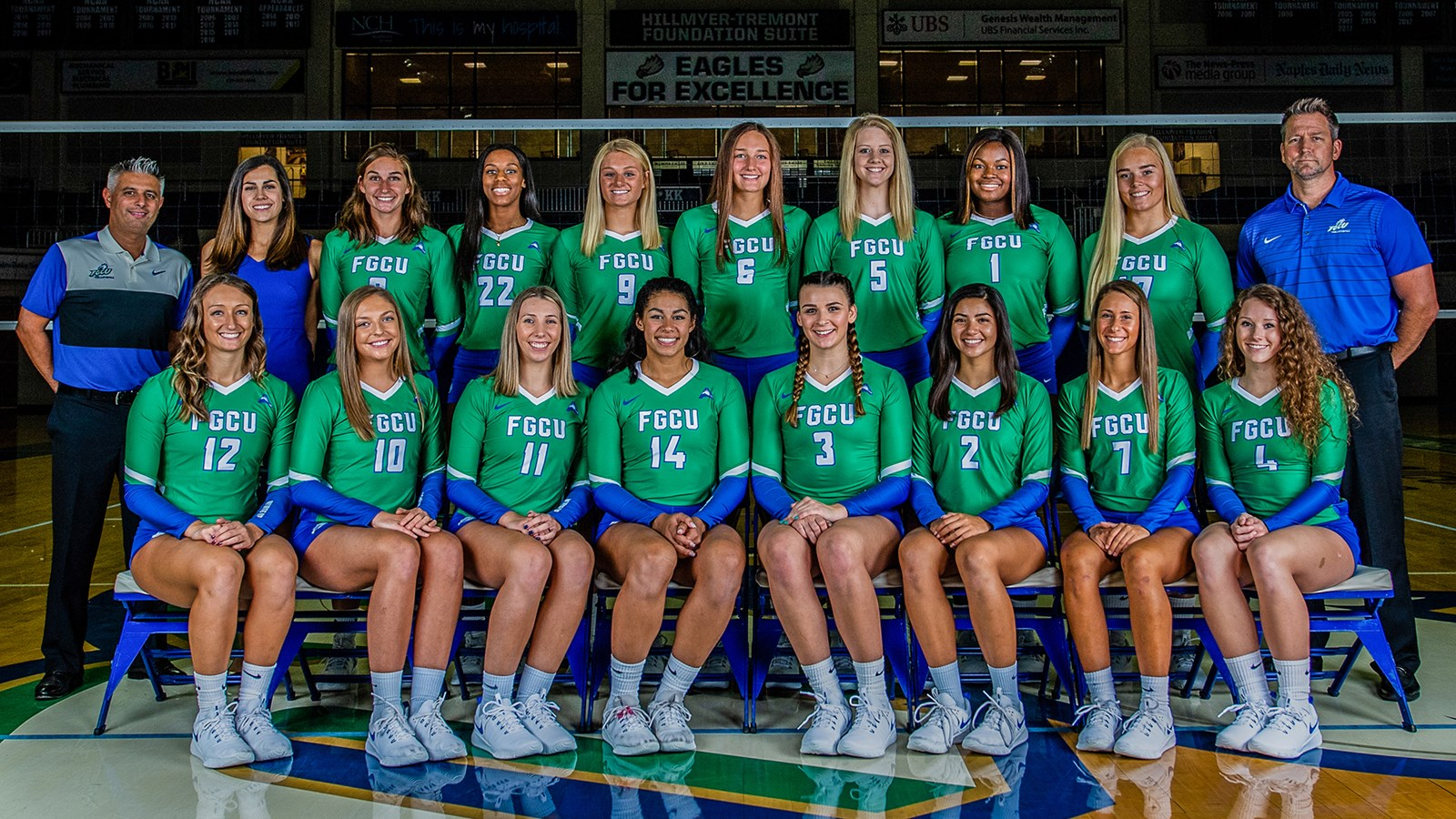 2019 Volleyball Roster Fgcu Athletics
